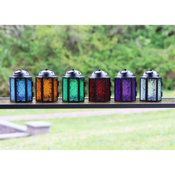 Decorative 6pc Assorted Mini Candle Lanterns