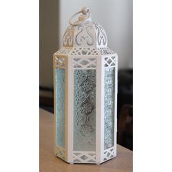 White Wedding Candle Lanterns